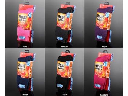 Heat Holders Dámské Termo Ponožky Velikost 37-42
