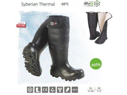 Camminare Holínky Syberian Thermal do -50°C.