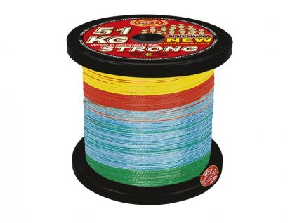 WFT Šňůra KG Strong Multicolor 0,22mm/32kg
