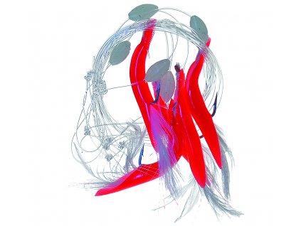 20819 ice fish navazec trubicky cervena 5ks