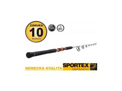 Sportex Sumcový Prut Catfire Vertical 180cm/90-200g 1-díl