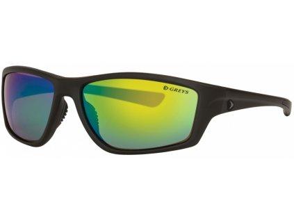 Greys Polarizační Brýle G3 SUNGLASSES (MATT CARBON/GREEN MIRROR)