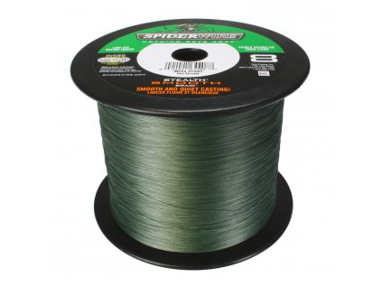Spiderwire Pletená Šnůra Esth Smooth moss green 0,25mm 27,3kg
