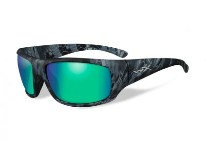 WILEY X Polarizované Brýle OMEGA Polarized Emerald Mirror A