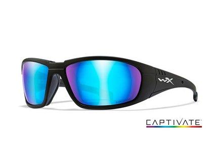 WILEY X Polarizované Brýle BOSS Captivate Polarized - Blue Mir