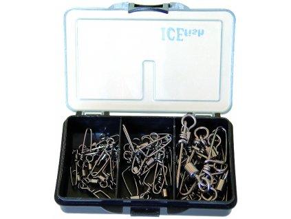 21110 1 ice fish sada karabinek v krabicce