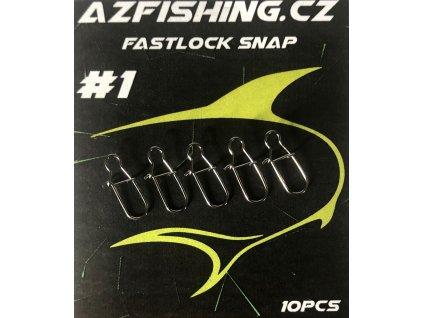 AzFishing Karabinky Fastlock Snaps