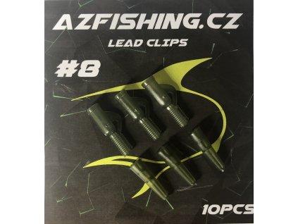 AzFishing Závěsky Lead Clips