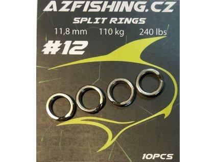 AzFishing Pevnostní kroužky Split Rings