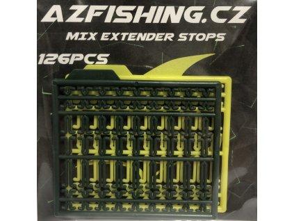 AzFishing Zarážky na Boilie Mix Extender stops