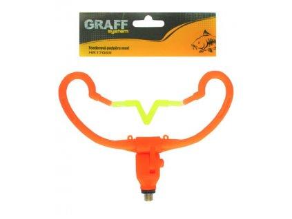 Graffishing Feederová podpěra V mini oranžová