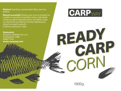 Carpway Ready Carp Corn Natural Chilli