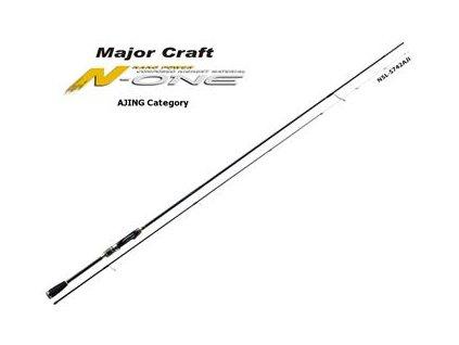Major Craft Prut N-One 2,07m 0,8-12g 2-díl