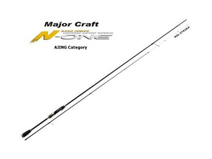 Major Craft Prut N-One 2,07m 0,8-12g - NSL-S662H/AJI