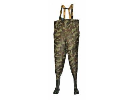 PROS Brodící Kalhoty MORO/GREEN SB01/MORO