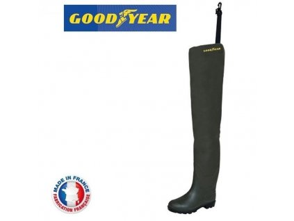 Goodyear Holinky Hip Waders Cuissarde SP Green