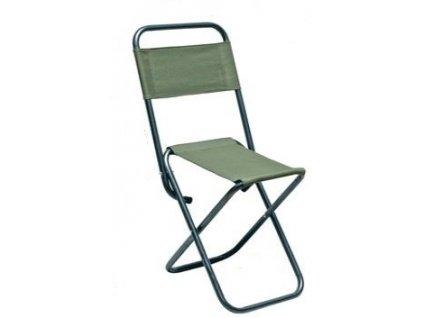 JSA Fish rybářská židlička s opěrkou