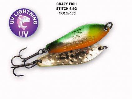 Crazy Fish Plandavka Stitch 6,5g UV GLOW