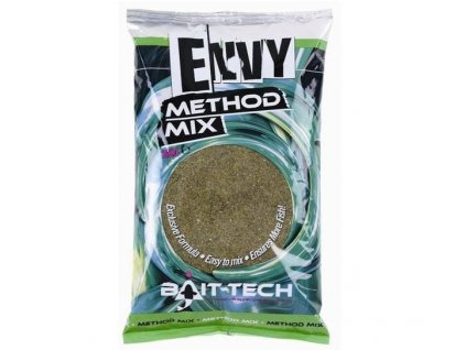 bait tech krmitkova smes envy green hemp halibut method mix 2 kg