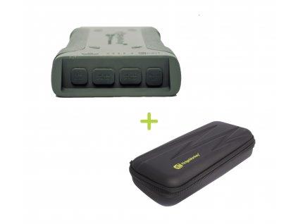 RidgeMonkey Powerbanka Vault C-Smart Wireless 26950mAh Green + GorillaBox 295 ZDARMA!