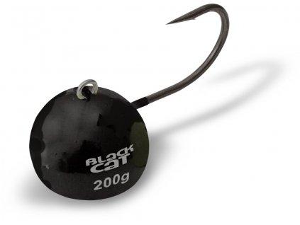 Black Cat Jig  Fire-Ball černá #6/0