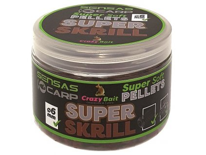 Sensas Pelety Super Soft Super Krill 60g