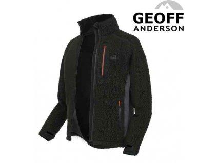 Geoff Anderson Mikina Thermal 3 pullover Tmavě zelený vel.M