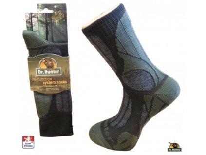 Heat Holders Ponožky Herbst Expedition Merino jemně kompresní