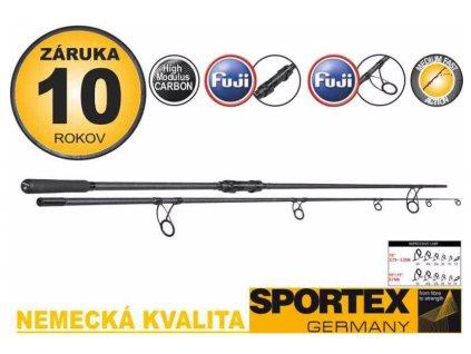 Sportex Kaprový Prut Impressive Carp 366cm 3lb 2-díl