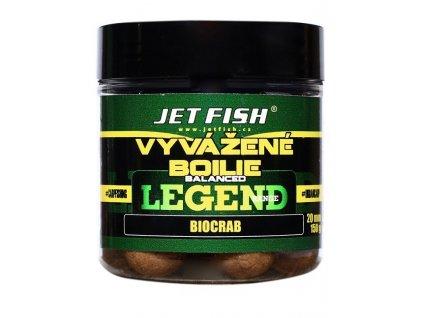 Jet Fish Vyvážené Boilie SEAFOOD švestka/česnek 250ml -24mm