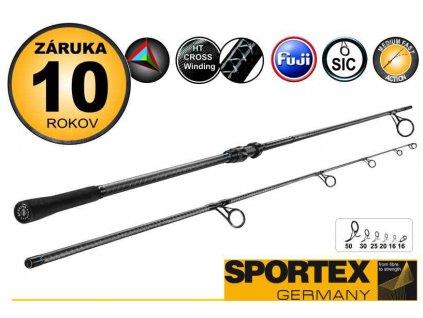 Sportex Prut FBC Carp 396cm 3,50lb 2-díl