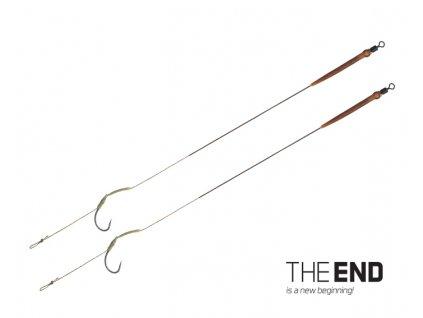Delphin Návazec The End Skin RIG 20cm 25lb - 2ks
