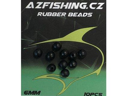 AzFishing Gumové Korálky Rubber Beads