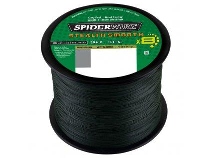 SpiderWire Šnůra Stealth Smooth8 Moss Green 1m