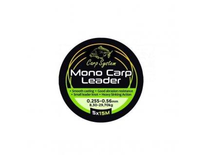 carp system mono carp leader sokovy navazec 0255 056mm 830 2970kg