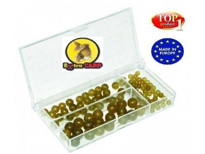 exc gumove koralky rubber beads set 100ks