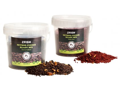 zfish method feeder ready mix 600g