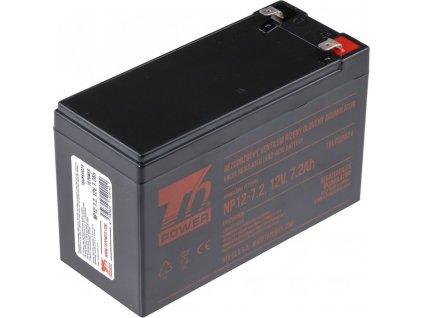 T6 Power Akumulátor NP12-7.2 12V 7,2Ah