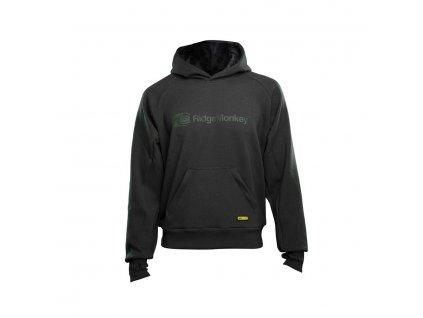 RidgeMonkey: Mikina APEarel Dropback MicroFlex Hoody Grey