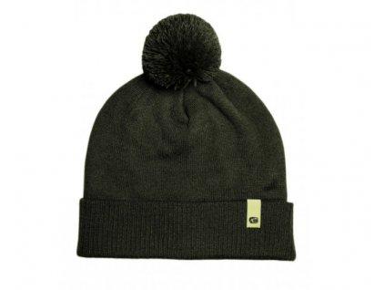 RidgeMonkey Čepice APEarel Dropback Bobble Hat Green
