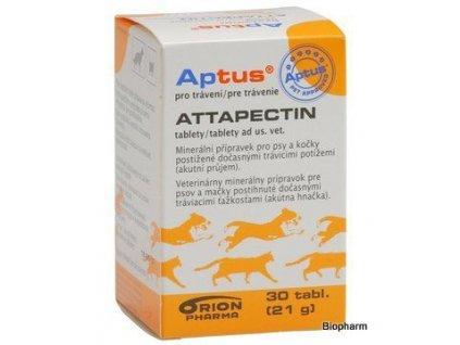 APTUS Attapectin 30tbl (akutní průjem psů a koček)