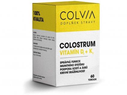 Colostrum vitamín D+K 33g