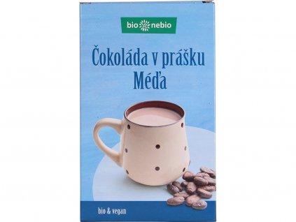 Bio čokoláda v prášku MÉĎA 150g se sníženým obsahem tuku