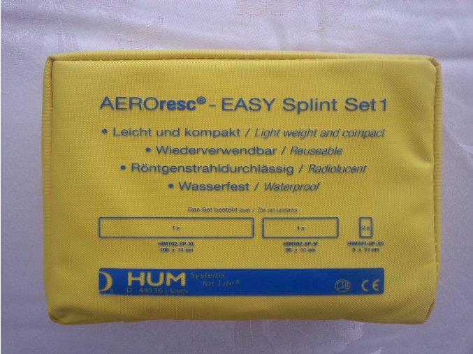 Sada fixačních dlah AeroRescue Splint