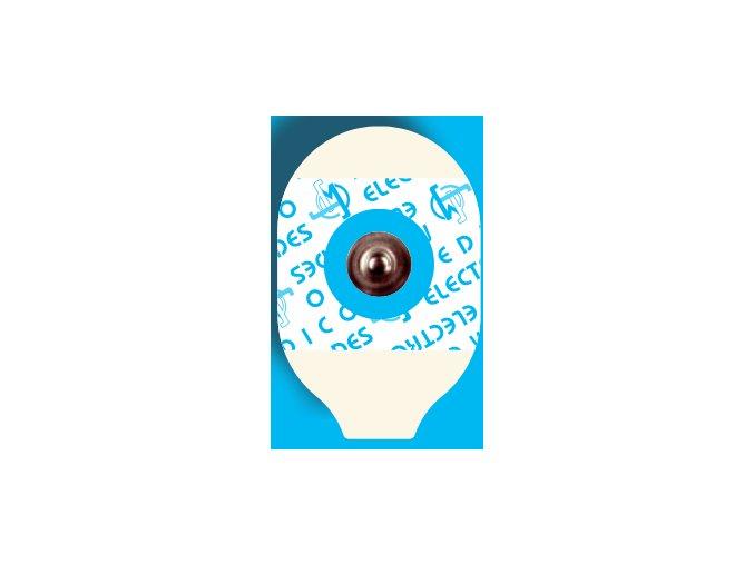 Jednorázové EKG elektrody MSGL 09GRT pohled