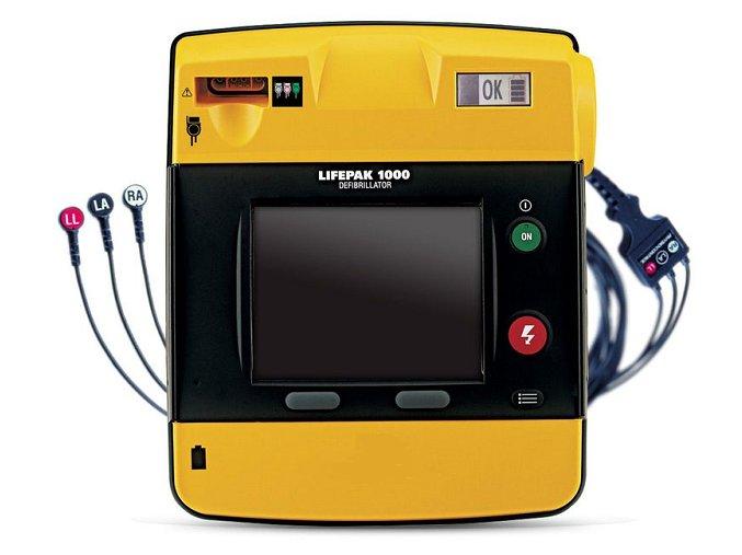 AED Lifepek 1000 s EKG