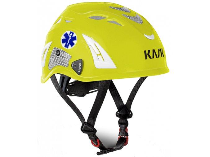 Záchranářská přilba Plasma HI VIZ Reflex Neo s označením Modrá hvězda