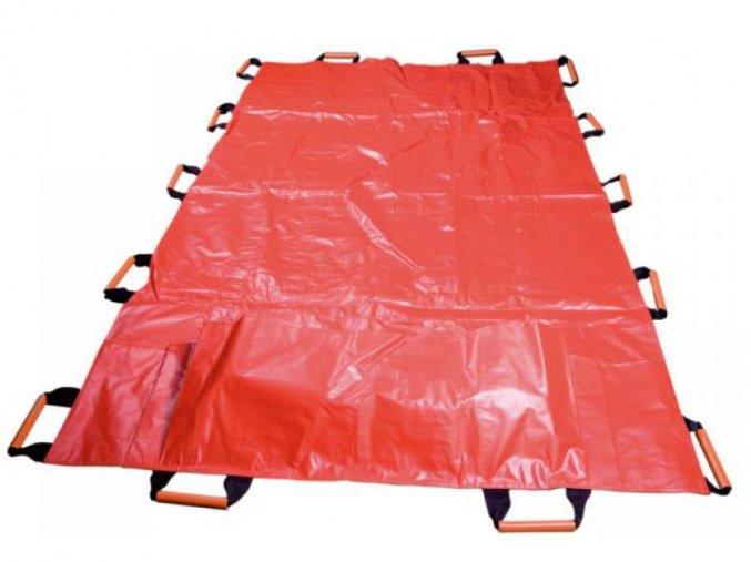 Transportní plachta XXL s nožní kapsou pro nadměrné pacienty