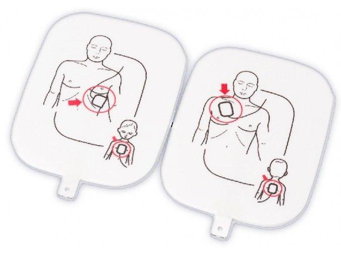 Výukové dospělé elektrody k AED Prestan