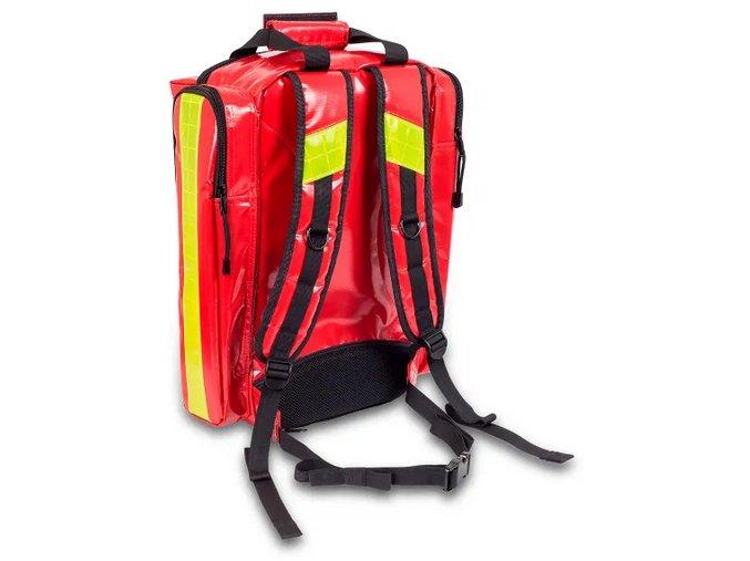 Zdravotnický batoh Rescue Red Plane s ochranou proti dešti vnitřek